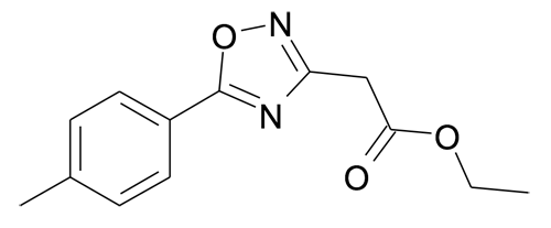 (5-p-Tolyl-[1,2,4]oxadiazol-3-yl)-acetic acid ethyl ester