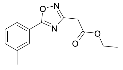 | MFCD15142829 | (5-m-Tolyl-[1,2,4]oxadiazol-3-yl)-acetic acid ethyl ester | acints
