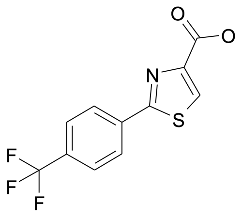 2-(4-Trifluoromethyl-phenyl)-thiazole-4-carboxylic acid