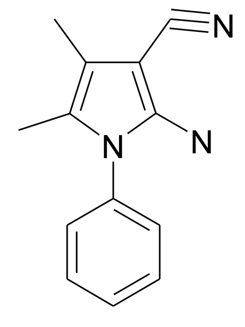 | MFCD08691116 | 2-Amino-4,5-dimethyl-1-phenyl-1H-pyrrole-3-carbonitrile | acints