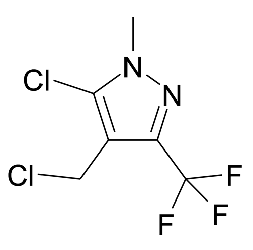 5-Chloro-4-chloromethyl-1-methyl-3-trifluoromethyl-1H-pyrazole