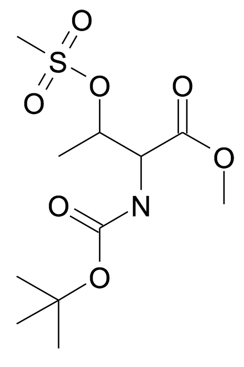| MFCD15142846 | 2-tert-Butoxycarbonylamino-3-methanesulfonyloxy-butyric acid methyl ester | acints