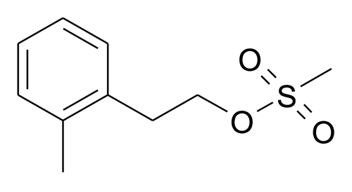 | MFCD15142849 | Methanesulfonic acid 2-o-tolyl-ethyl ester | acints