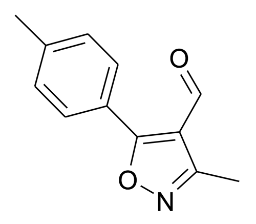 3-Methyl-5-p-tolyl-isoxazole-4-carbaldehyde