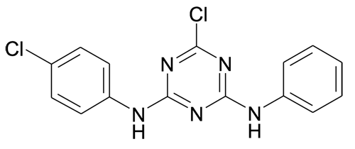100961-15-7 | MFCD00979961 | 6-Chloro-N-(4-chloro-phenyl)-N'-phenyl-[1,3,5]triazine-2,4-diamine | acints