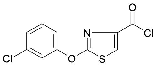 2-(3-Chloro-phenoxy)-thiazole-4-carbonyl chloride