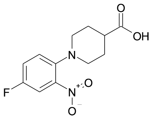 1-(4-Fluoro-2-nitro-phenyl)-piperidine-4-carboxylic acid