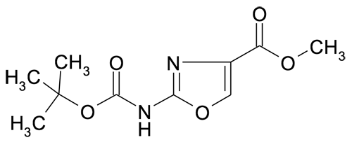 | MFCD19981431 | 2-tert-Butoxycarbonylamino-oxazole-4-carboxylic acid methyl ester | acints