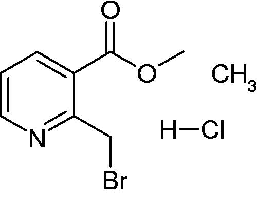 2-Bromomethyl-nicotinic acid ethyl ester; hydrochloride