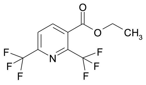 2,6-Bis-trifluoromethyl-nicotinic acid ethyl ester