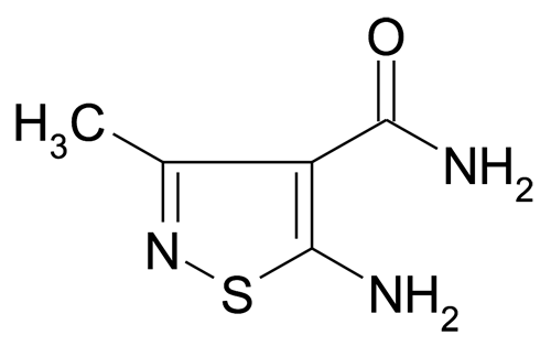5-Amino-3-methyl-isothiazole-4-carboxylic acid amide