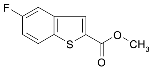 5-Fluoro-benzo[b]thiophene-2-carboxylic acid methyl ester