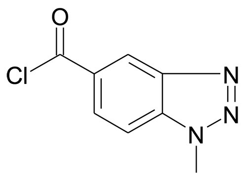 1-Methyl-1H-benzotriazole-5-carbonyl chloride
