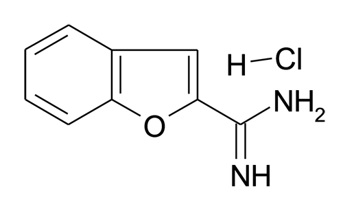 Benzofuran-2-carboxamidine; hydrochloride