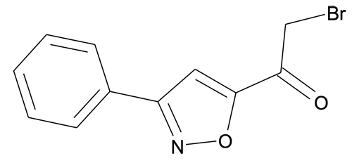 2-Bromo-1-(3-phenyl-isoxazol-5-yl)-ethanone