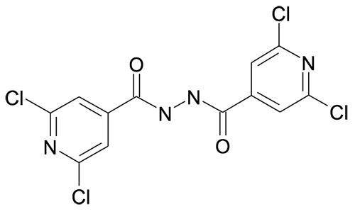 2,6-Dichloro-isonicotinic acid N'-(2,6-dichloro-pyridine-4-carbonyl)-hydrazide