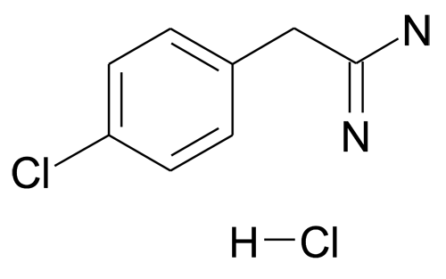2-(4-Chloro-phenyl)-acetamidine; hydrochloride