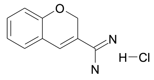 2H-Chromene-3-carboxamidine; hydrochloride