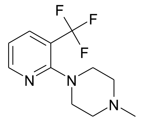 1-Methyl-4-(3-trifluoromethyl-pyridin-2-yl)-piperazine