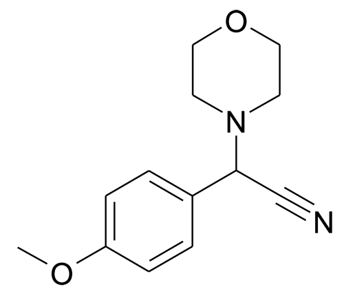 15190-13-3 | MFCD00023356 | (4-Methoxy-phenyl)-morpholin-4-yl-acetonitrile | acints