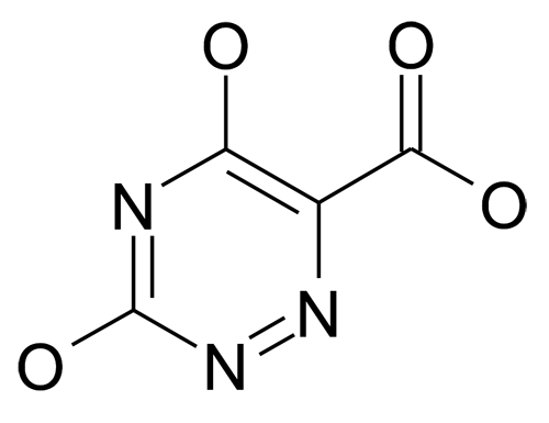 3,5-Dihydroxy-[1,2,4]triazine-6-carboxylic acid