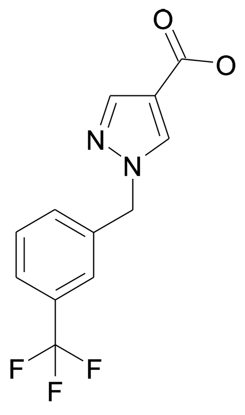 1-(3-Trifluoromethyl-benzyl)-1H-pyrazole-4-carboxylic acid