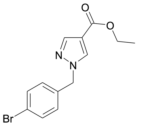 1-(4-Bromo-benzyl)-1H-pyrazole-4-carboxylic acid ethyl ester