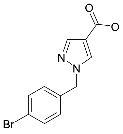 1-(4-Bromo-benzyl)-1H-pyrazole-4-carboxylic acid