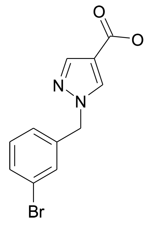 1-(3-Bromo-benzyl)-1H-pyrazole-4-carboxylic acid