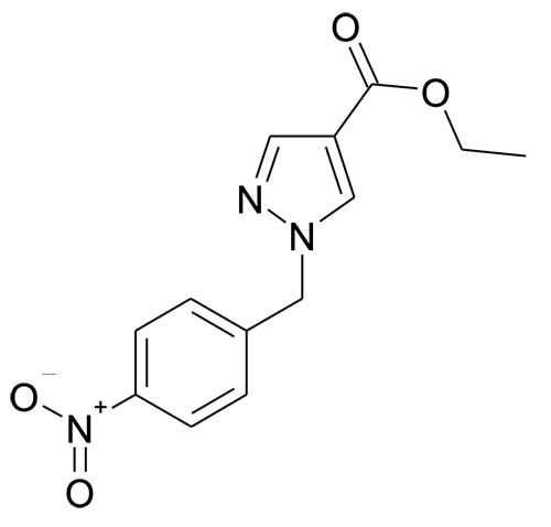1-(4-Nitro-benzyl)-1H-pyrazole-4-carboxylic acid ethyl ester
