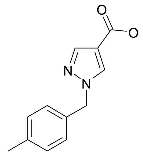 1-(4-Methyl-benzyl)-1H-pyrazole-4-carboxylic acid