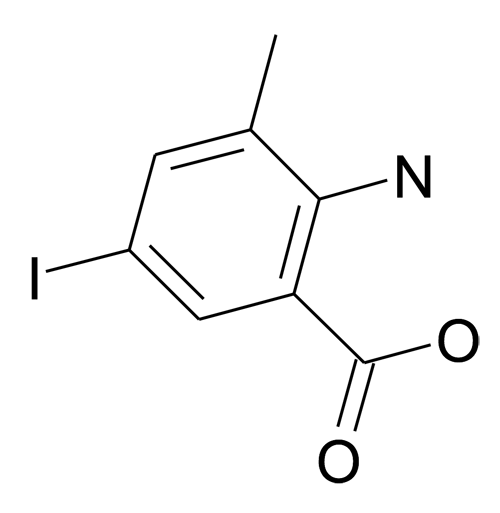 2-Amino-5-iodo-3-methyl-benzoic acid