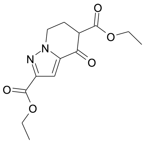 4-Oxo-4,5,6,7-tetrahydro-pyrazolo[1,5-a]pyridine-2,5-dicarboxylic acid diethyl ester