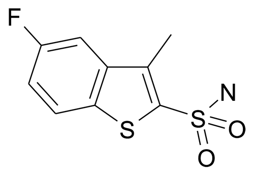 5-Fluoro-3-methyl-benzo[b]thiophene-2-sulfonic acid amide
