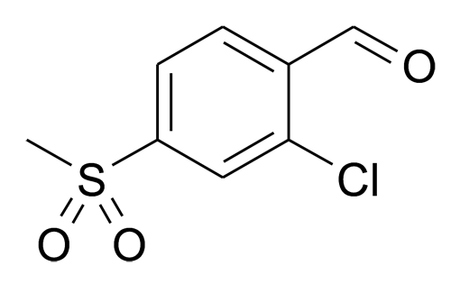2-Chloro-4-methanesulfonyl-benzaldehyde