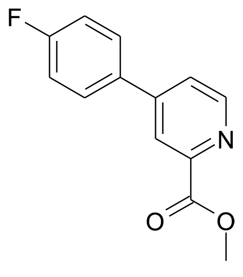 4-(4-Fluoro-phenyl)-pyridine-2-carboxylic acid methyl ester