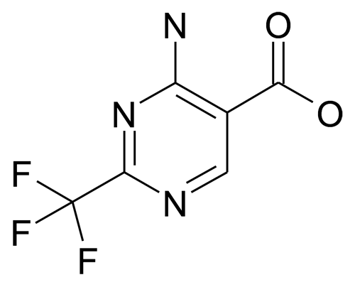 4-Amino-2-trifluoromethyl-pyrimidine-5-carboxylic acid