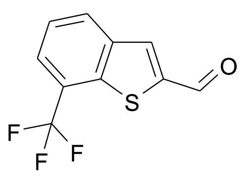 7-Trifluoromethyl-benzo[b]thiophene-2-carbaldehyde