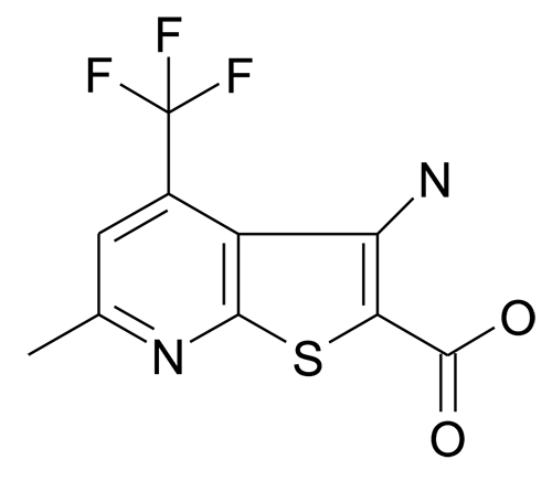 3-Amino-6-methyl-4-trifluoromethyl-thieno[2,3-b]pyridine-2-carboxylic acid
