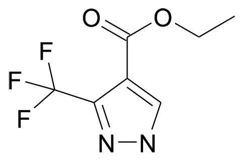 3-Trifluoromethyl-1H-pyrazole-4-carboxylic acid ethyl ester