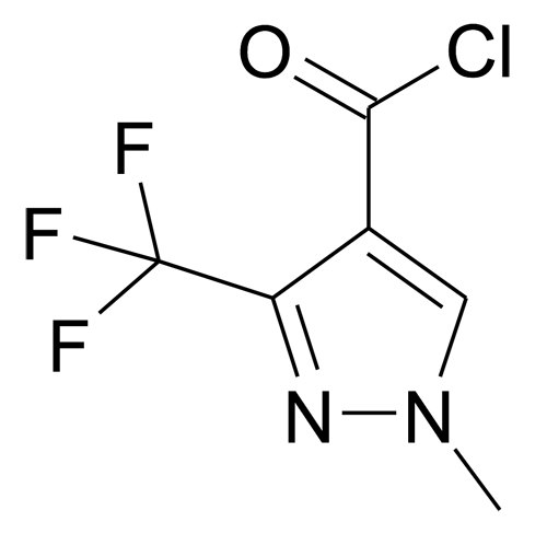 1-Methyl-3-trifluoromethyl-1H-pyrazole-4-carbonyl chloride