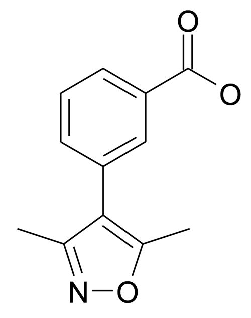 3-(3,5-Dimethyl-isoxazol-4-yl)-benzoic acid