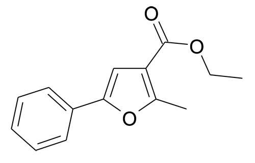2-Methyl-5-phenyl-furan-3-carboxylic acid ethyl ester