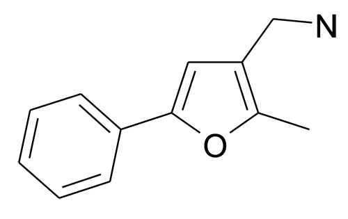 C-(2-Methyl-5-phenyl-furan-3-yl)-methylamine