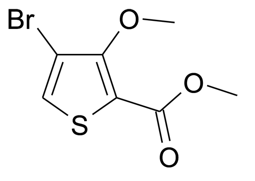 4-Bromo-3-methoxy-thiophene-2-carboxylic acid methyl ester