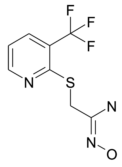 N-Hydroxy-2-(3-trifluoromethyl-pyridin-2-ylsulfanyl)-acetamidine