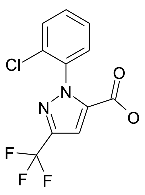 2-(2-Chloro-phenyl)-5-trifluoromethyl-2H-pyrazole-3-carboxylic acid