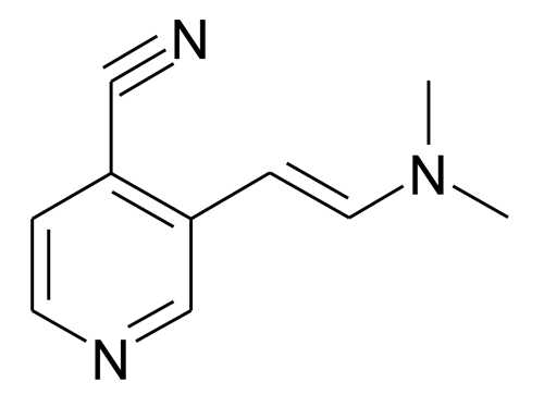 3-((E)-2-Dimethylamino-vinyl)-isonicotinonitrile