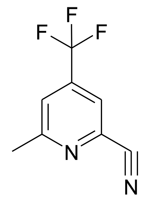 6-Methyl-4-trifluoromethyl-pyridine-2-carbonitrile