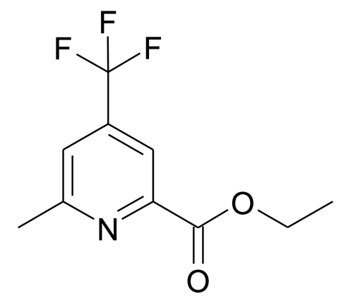 6-Methyl-4-trifluoromethyl-pyridine-2-carboxylic acid ethyl ester